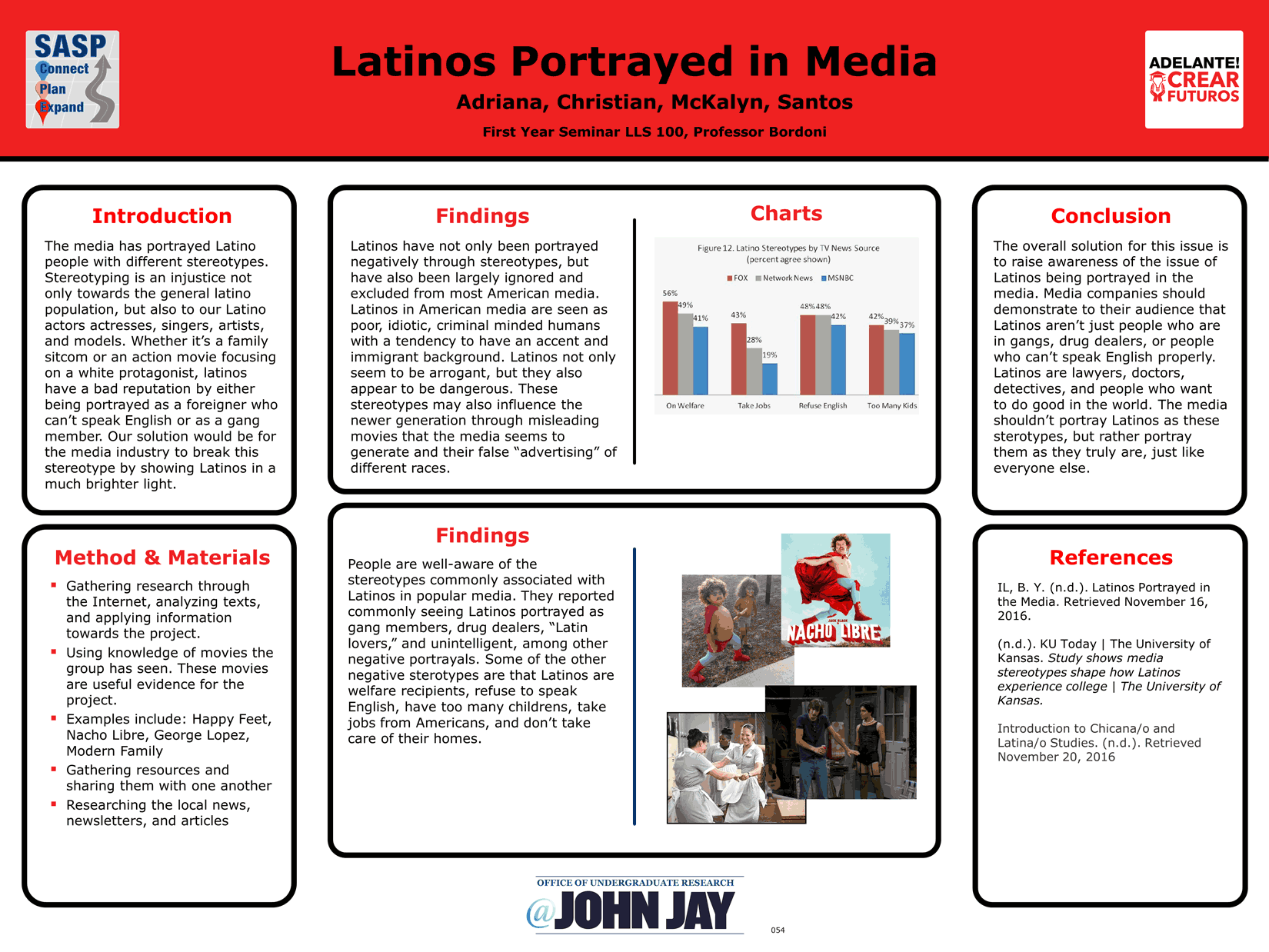 how judaism is portrayed in media Portrayal of minorities in the film, media and entertainment industries yurii horton raagen price eric brown poverty & prejudice: media and race june 1, 1999.