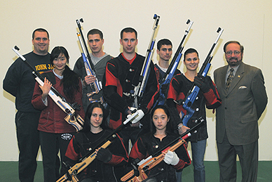 John Jay's Rifle Team Wins Their Fourth Mid Atlantic Conference Championship