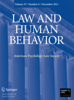 Law and Human Behavior book cover
