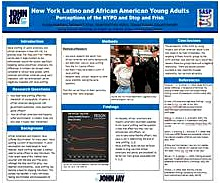 NEW YORK LATINO AND AFRICAN AMERICAN YOUNG ADULTS: PERCEPTION OF THE NYPD AND STOP AND FRISK