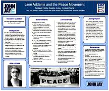 JANE ADDAMS AND THE PEACE MOVEMENT