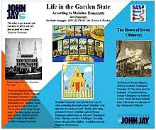 LIFE IN THE GARDEN STATE: ACCORDING TO MADELINE POMERANTZ