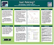 JUST POLICING?