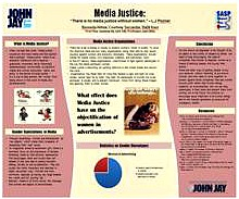 "MEDIA JUSTICE: ""THERE IS NO MEDIA JUSTICE WITHOUT WOMEN""- L.J POZNER"
