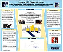 STOP AND FRISK TARGETS MINORITIES