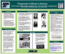 PROGRESSION OF BLACKS IN AMERICA