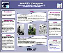 GANDHI'S NEWSPAPER