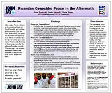 RWANDAN GENOCIDE: PEACE IN THE AFTERMATH GEN 140