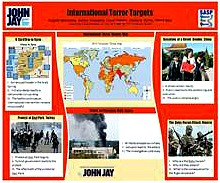INTERNATIONAL TERROR TARGETS
