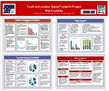 YOUTH AND JUSTICE: DIGITAL FOOTPRINT PROJECT WEB EVOLUTION