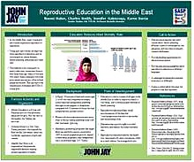 REPRODUCTIVE EDUCATION IN THE MIDDLE EAST