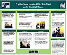 FUGITIVE SLAVE HEARING 1850 (ROLE PLAY)