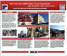 NEW YORK CITY GRAFFITI PROJECT: GROUP PERSPECTIVES