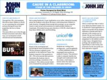 CAUSE IN A CLASSROOM: STAND UP FOR CHILDREN IN CRISIS
