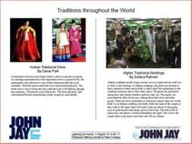 TRADITIONS THROUGHOUT THE WORLD