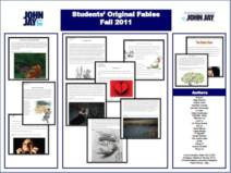 BOOK: STUDENTS' ORIGINAL FABLES