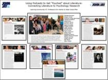 """MULTIMEDIA PRESENTATION: USING PODCASTS TO GET """"PSYCHED"""" ABOUT LITERATURE"""