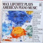 Max Lifchitz Plays American Piano Music Cover