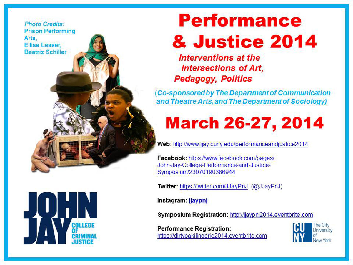 Performance and Justice 2014