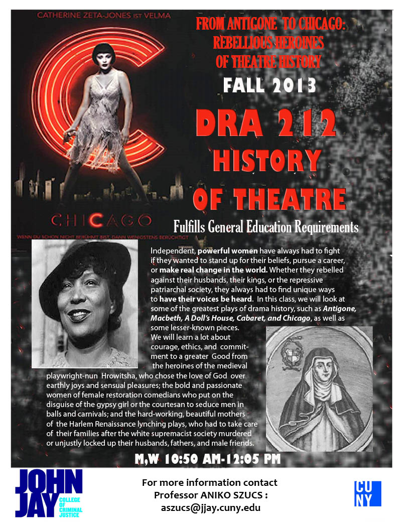 DRA 212 History of Theatre