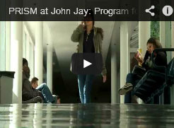 Screenshot of the PRISM at John Jay video