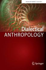 Dialectical Anthropology book cover