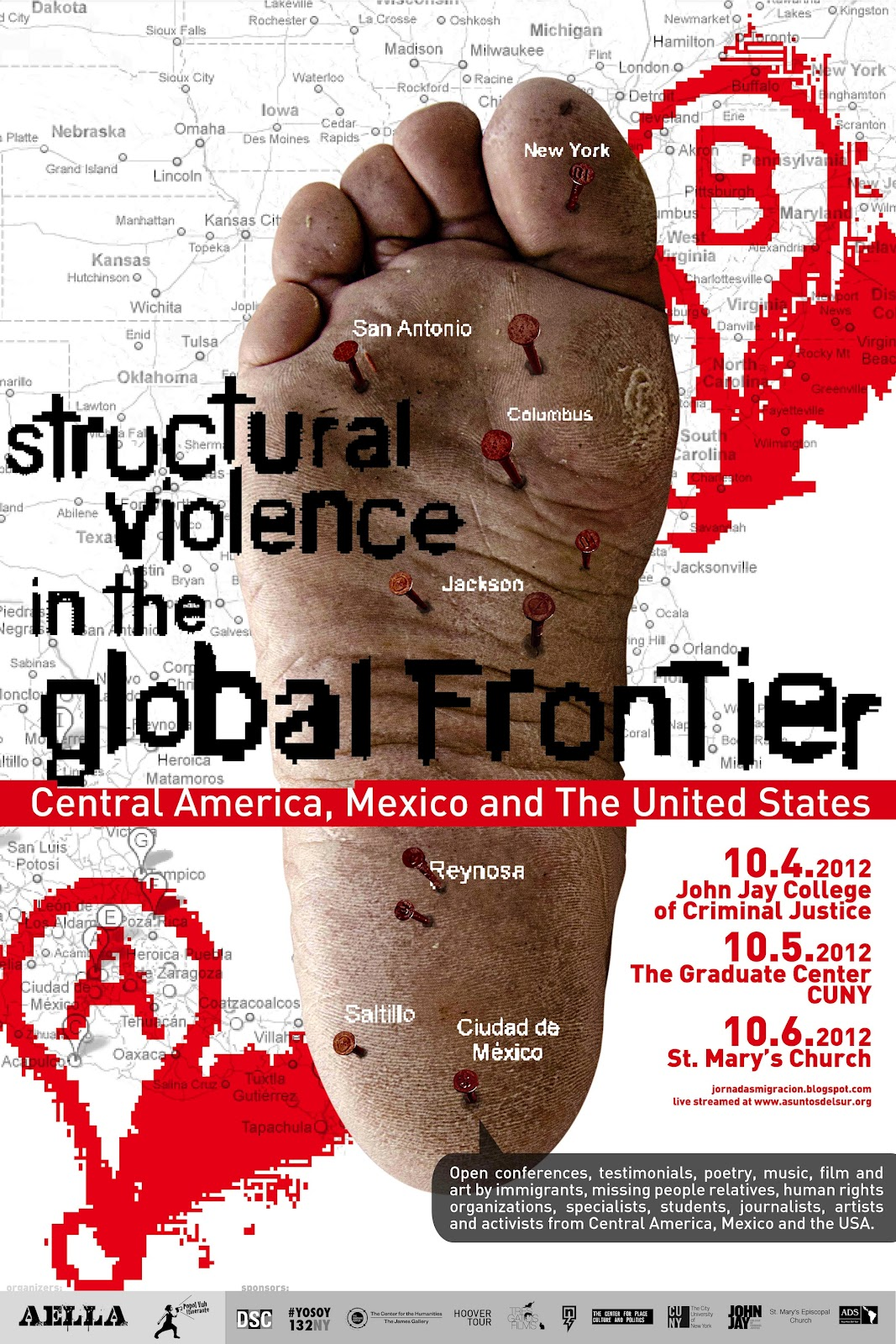 Structural Violence in the Global Frontier flyer