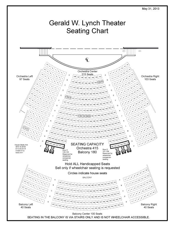 Sanders Theater Seating Diagram Catalog Auto Parts